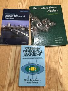 University Math Books