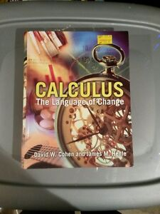 Calculus The Language of Change Gatineau Ottawa / Gatineau Area image 1