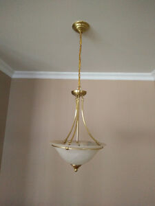 Gold ceiling light fixtures Cornwall Ontario image 2