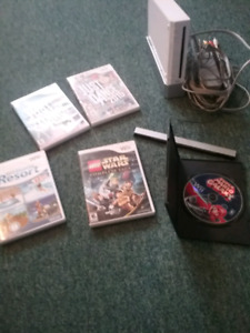Wii AND 5 GAMES