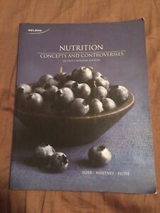 Nutrition concepts and controversies  Peterborough Peterborough Area image 1
