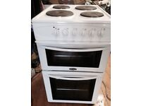 £80 BELLING 50 CM WIDE 12 MONTHS OLD ELECTRIC COOKER