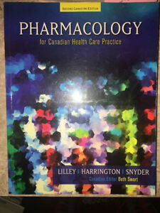 Pharmacology for the Canadian Health Care Practice