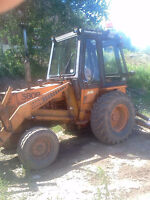 1979 580 case deisel backhoe 2 wheel drive