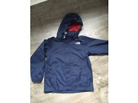 Boys north face age 7-8 s hyvent jacket