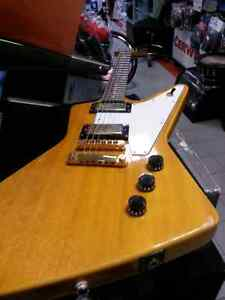 Epiphone thunderbird xplorer with case. Busters has used goods
