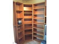 IKEA bookshelves and shelving units