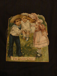 The Dandy Chair c1890 RARE child's collectible (Brighton)