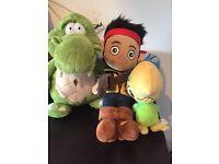 Jake and the Neverland Pirates teddies