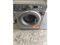 New Graded Hotpoint 9kg Washinhg Machine - Silver
