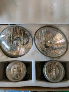 2013 Jeep Wrangler Headlight/Fog Light Set