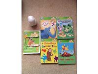 Leapfrog tag junior reader and books