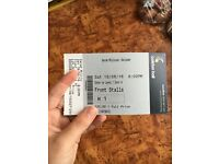 2x Sarah Millican tickets seated row H