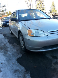 2001 Honda Civic Sedan ***CERTIFIED***