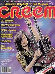 Great rock magazines from 1970 to 2000
