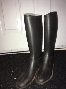 Partially Used Kids Riding Boots