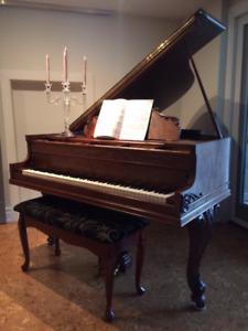 """5' 7"""" Mason & Risch Grand Piano"""