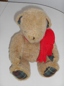 Cute and Plush Seasonal Teddy for your Mantle