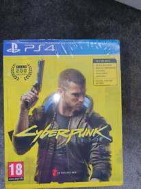 Cyberpunk ps4 new sealed