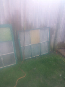 Antique windows