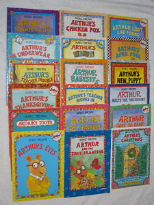 ARTHUR - CHILDRENS SOFTCOVER BOOKS - GREAT SELECTION ** SALE**