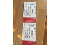 2 table tickets champions league of darts