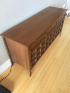 Vintage mid century console stereo