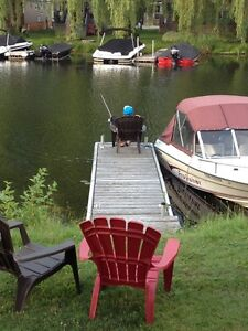 Waterfront 2 bedroom Cottage for rent (Air-conditioned)