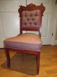 Antique chair- cherry finish- great condition