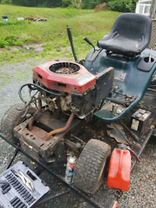 Craftsman Lawn tractor deck and parts.