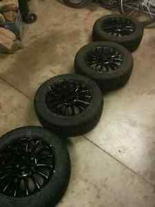 Grand AM winter tires and rims Kitchener / Waterloo Kitchener Area image 3