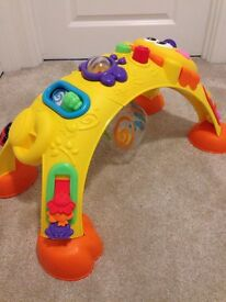 Fisher Price Sit to Stand Activty Lion Arch