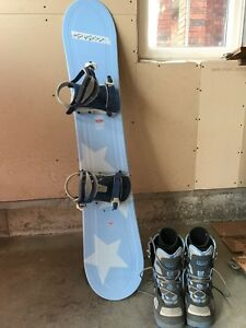 Brand-new snowboard by LTD snowboards measurement 144, brand-new