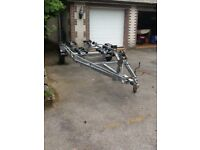 Mersey boat trailer 1800kg gross weight