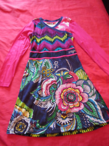 Desigual dress, for 13-14 yo girl, new without tags, cotton