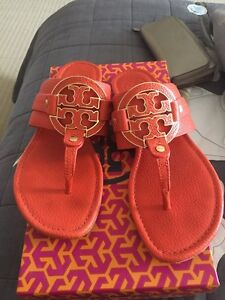 Tory Burch Amanda leather shandals
