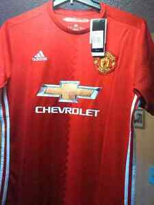 MANCHESTER UNITED AUTHENTIC SOCCER JERSEY CHANDAIL IBRAHIMOVIC