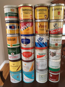 Tobacco cans