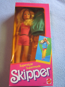 1984 Superstyle Skipper Barbie