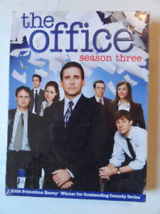 THE OFFICE Season 3 (4 DVD Disc Set) BRAND NEW SEALED!