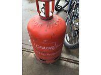 Empty Propane 13 kg Calor gas bottle