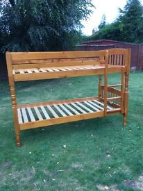 Pine bunk beds very good condition
