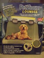 PetZoom Loungee Car Seat Cover