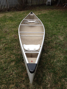 "Yukon clipper 16'8"" fibreglass canoe for sale"