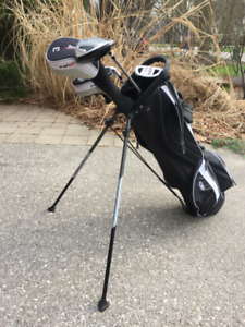Tour Edge Junior Golf Clubs - condition 9/10, right handed