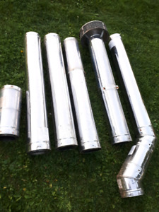 6 inch stainless insulated pipe
