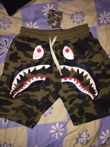 selling authentic bape shorts for cheap