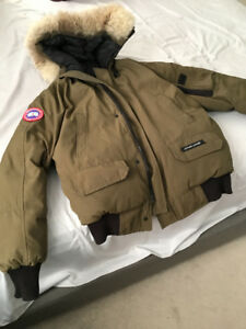 CANADA GOOSE Jacket Men's Small Chilliwack Bomber Miltary Green