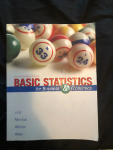 Basic Statistics for Business and Economics (4th Can Ed.) - Lind