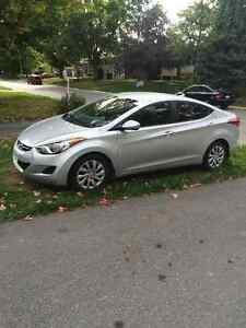 2013 Hyundai Elantra Sedan Peterborough Peterborough Area image 1